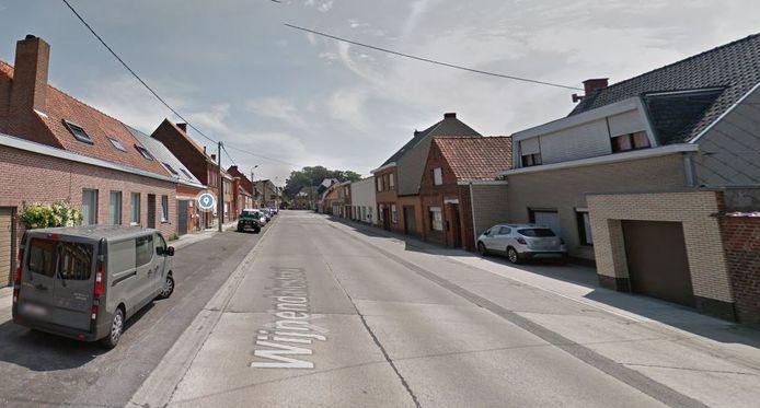 De Wijnendalestraat op vandaag.