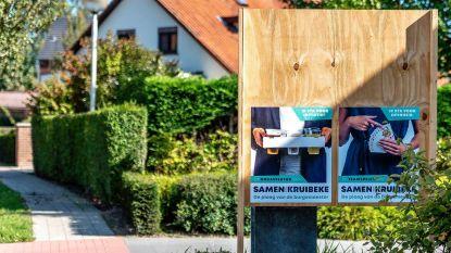 SamenVoorKruibeke plaatst 'halve' verkiezingsborden