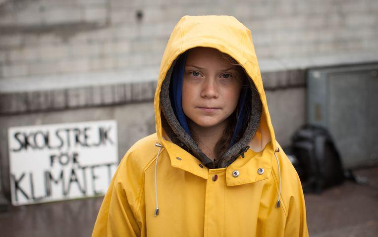 Greta Thunberg. Beeld BBC/BRF/Anders Hellberg