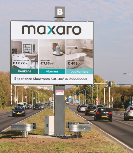 Digitale billboards: goed voor ondernemer, maar ook voor verkeersveiligheid?