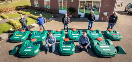 Maairobots op sportvelden in Cranendonck en Heeze-Leende