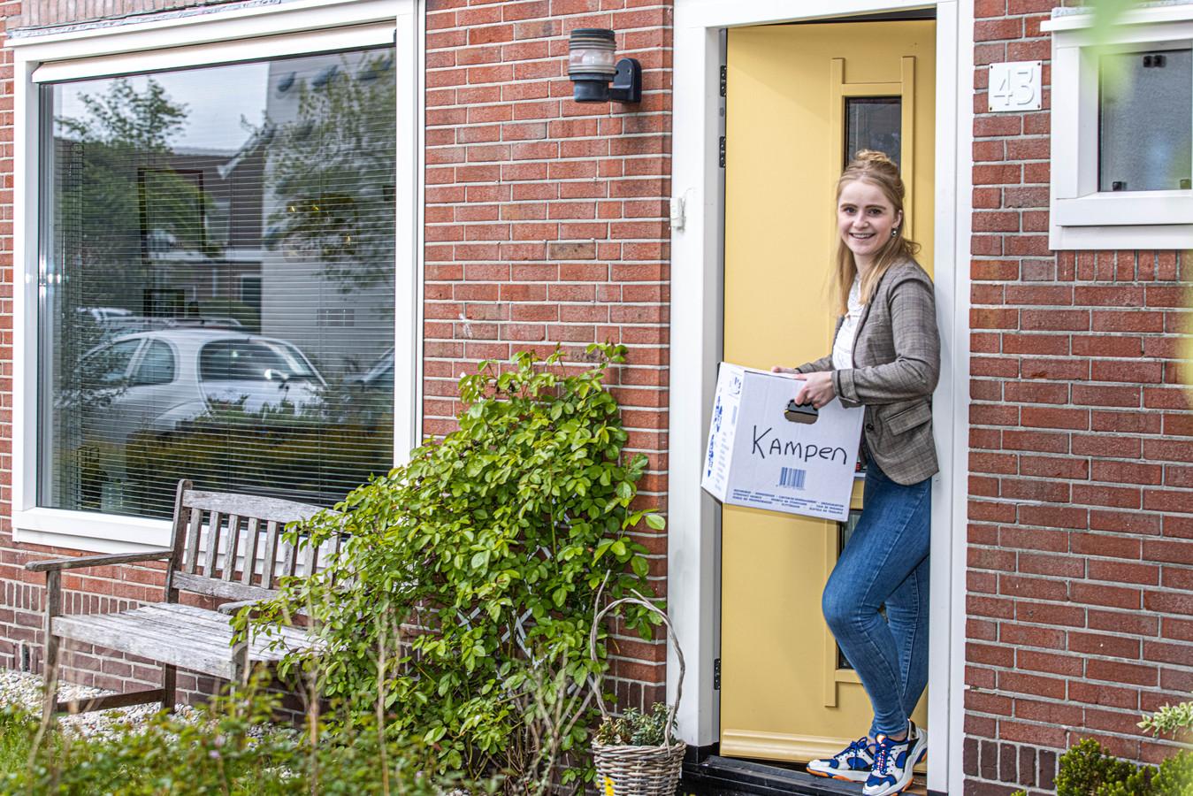 Margriet Boersma vertrekt als CDA-raadslid. Ze verhuist naar Kampen.