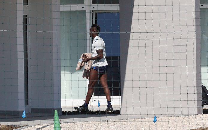 Mario Balotelli begin deze week voor een individuele training.  Een dag later kwam hij niet opdagen.