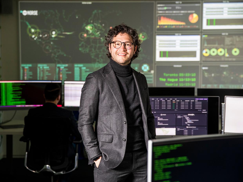 Frank Groenewegen verliet Fox-ITonlangs om partner Cyber Risk bij Deloitte te worden. Beeld Jiri Büller