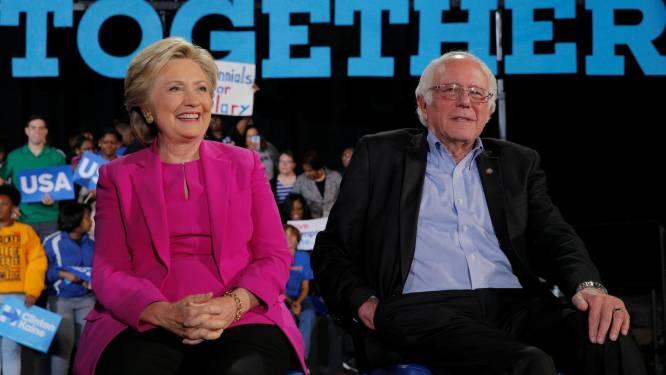 """""""Hij heeft me onherstelbare schade toegebracht"""": Hillary Clinton snoeihard voor Bernie Sanders in nieuw boek"""