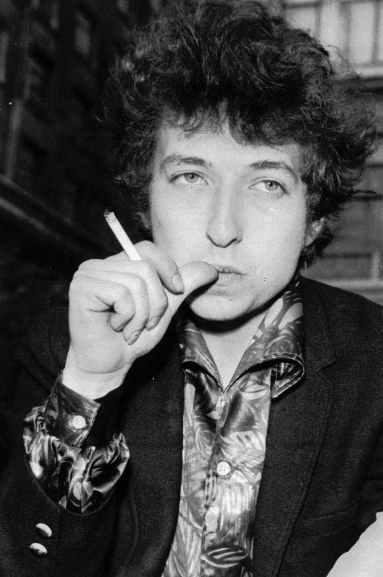 Bob Dylan in 1965. Beeld AP