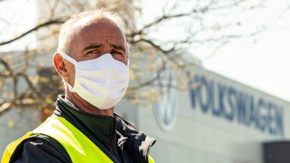 Volkswagen herstart autoproductie in Duitsland