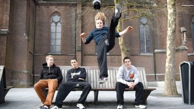 Nieuw team freerunners zet Eindhoven op de kaart