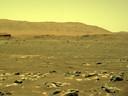 Een beeld van Mars dat de Perseverance maakte.
