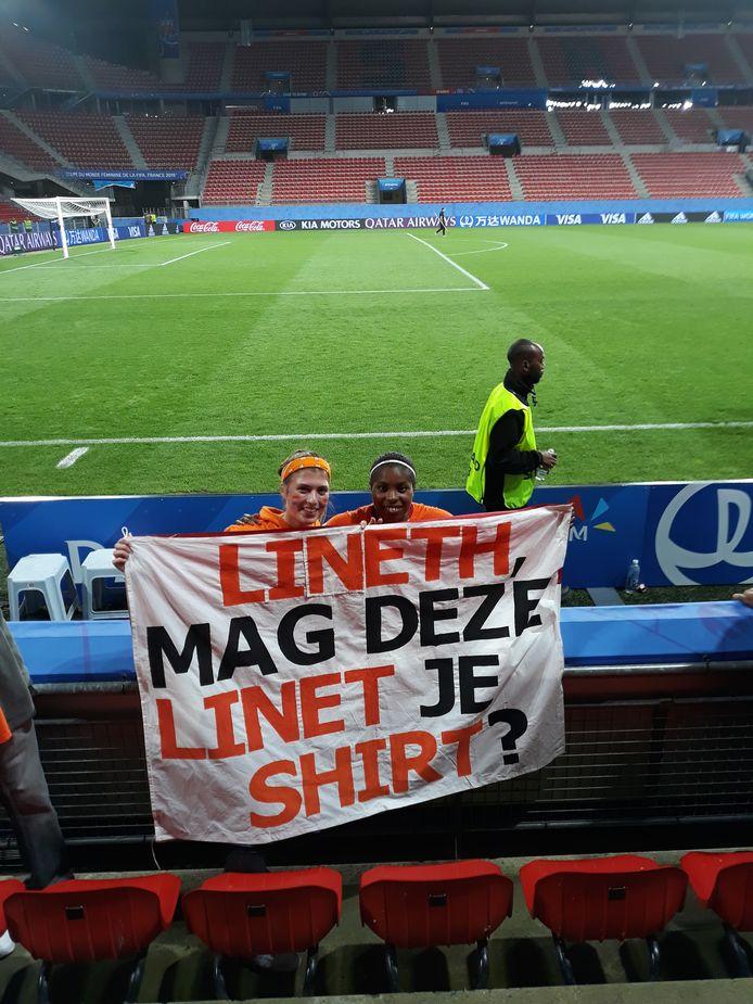 Linet met Lineth Beerensteyn.