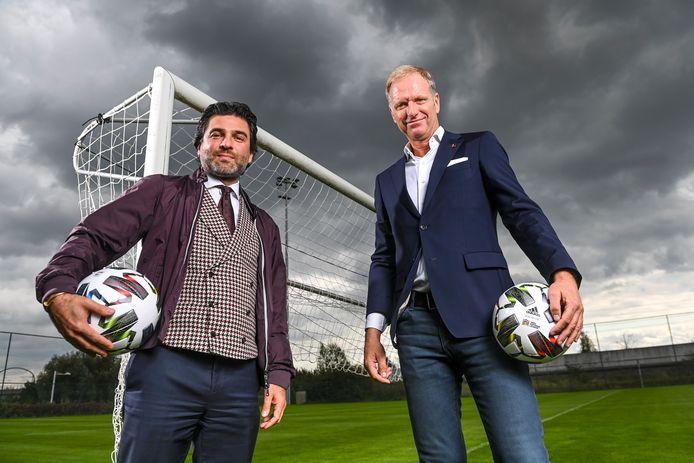 Bondsvoorzitter Mehdi Bayat en CEO Peter Bossaert.