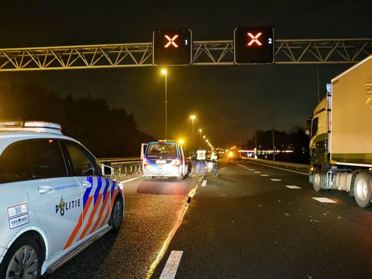 Ongeluk met meerdere voertuigen op A58, weg tussen Oirschot en Eindhoven dicht
