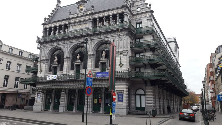 De Koninklijke Vlaamse Schouwburg in Brussel.