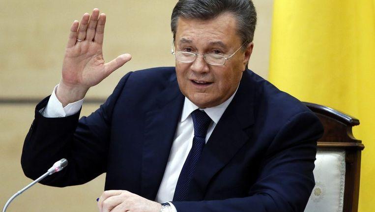 Viktor Janoekovitsj Beeld epa