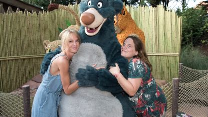 IN BEELD. Annelien Coorevits en Ruth Beeckmans genieten van 'The Lion King & Jungle Festival' in Disneyland Paris