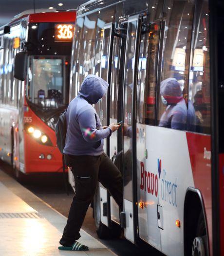 Man weigert mondkapje te dragen en mishandelt meerdere buschauffeurs in Roosendaal