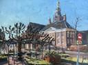 De moeierboom in Etten-Leur, geschilderd door Jos Antens uit Roosendaal.