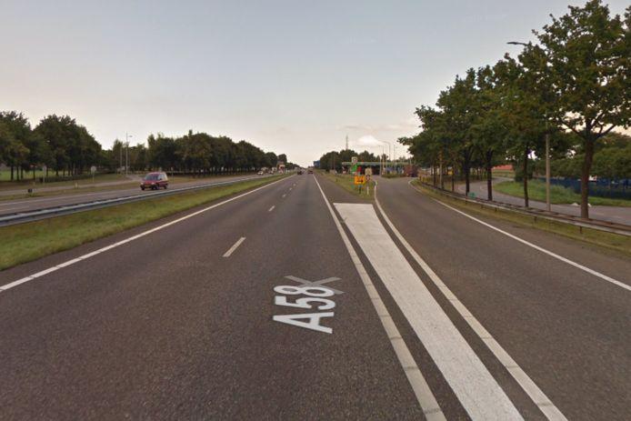 De A58 is komend weekend afgesloten tussen knooppunt De Stok en afrit Etten-Leur-West/Industrieterrein Vosdonk richting Breda