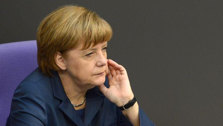 Angela Merkel. Beeld BELGA