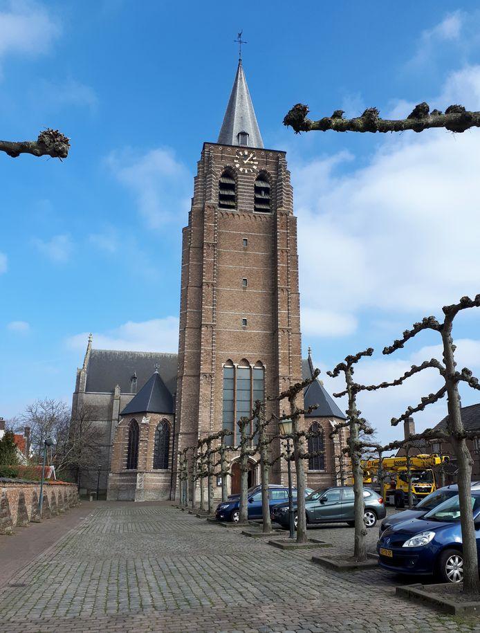 De Toren van de Lambertuskerk  in Wouw.  Foto Alfred de Bruin