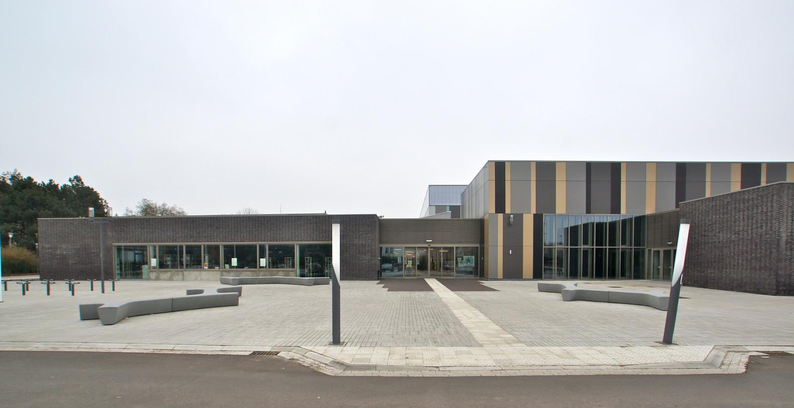 Het sportcentrum Daverlo in Assebroek wordt uitgespeeld als concertzaal.