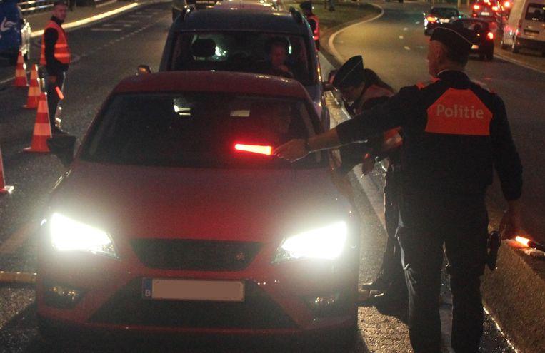 De politie controleerde in Hasselt en in Diepenbeek