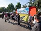 Inwoners Harskamp protesteren tegen komst zonnepark
