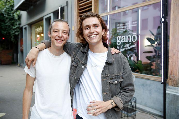 Ian Thomas en (half)broer Toon