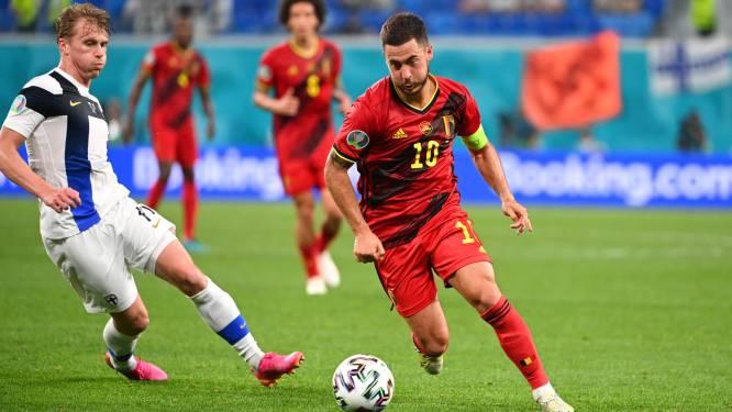 """Martínez tevreden over Eden Hazard: """"Hij oogt fysiek sterk, ik maak me geen zorgen om hem"""""""