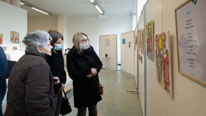 """Dementieatelier toont werk en koffer: """"Thema is taboe"""""""