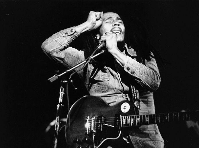 Bob Marley in 1981, tijdens een concert in Parijs. Foto ter illustratie