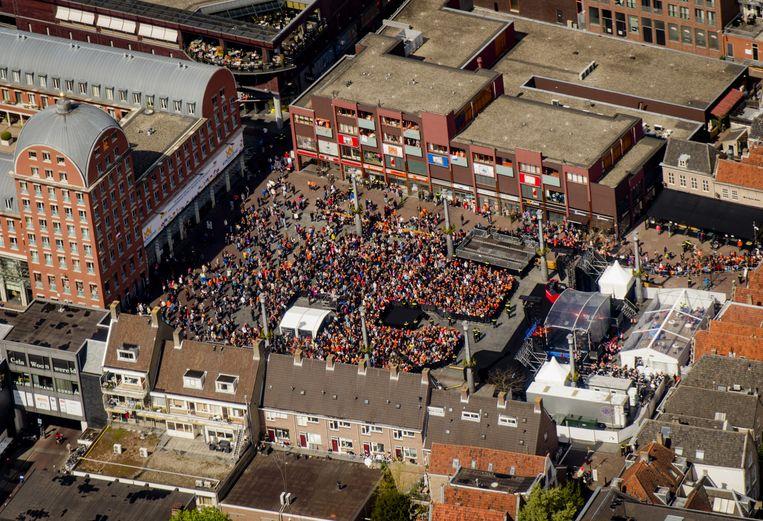 Het Statenplein in Dordrecht. Beeld anp