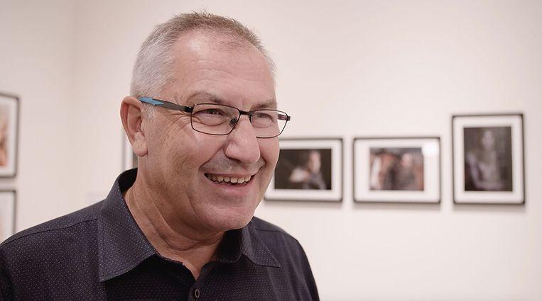 Alain Schroeder: 'Ik vind het belangrijk om deze foto's zo veel mogelijk te verspreiden, om de mensen wakker te schudden.' Beeld rv