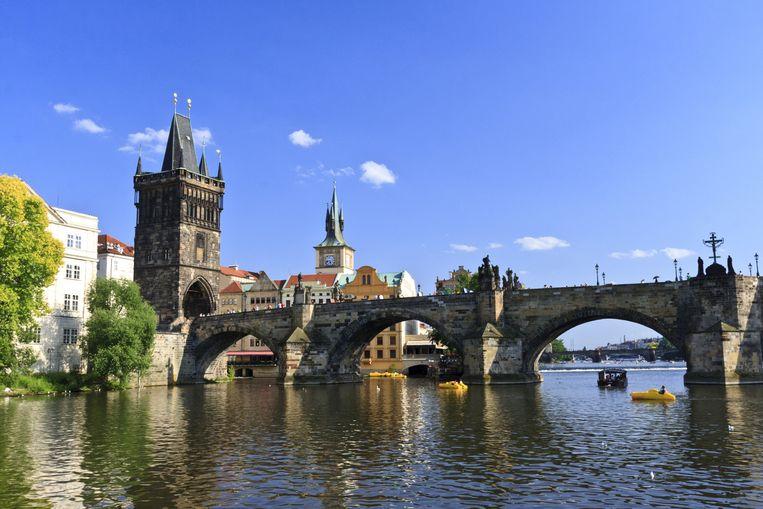 De Karelsbrug in Praag Beeld Thinkstock