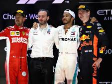 Verstappen sluit 2018 af met vijfde podiumplek op rij