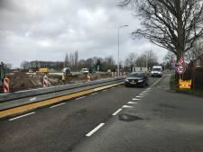 Verkeershinder bij Boekel vanwege aansluiting rotondes