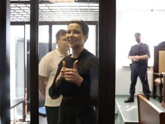 Proces tegen oppositieleidster Maria Kolesnikova van start in Wit-Rusland