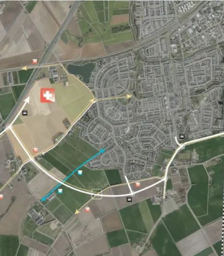 Hoe moet die nieuwe randweg van Tolberg - met tunnel - er straks uit komen te zien?