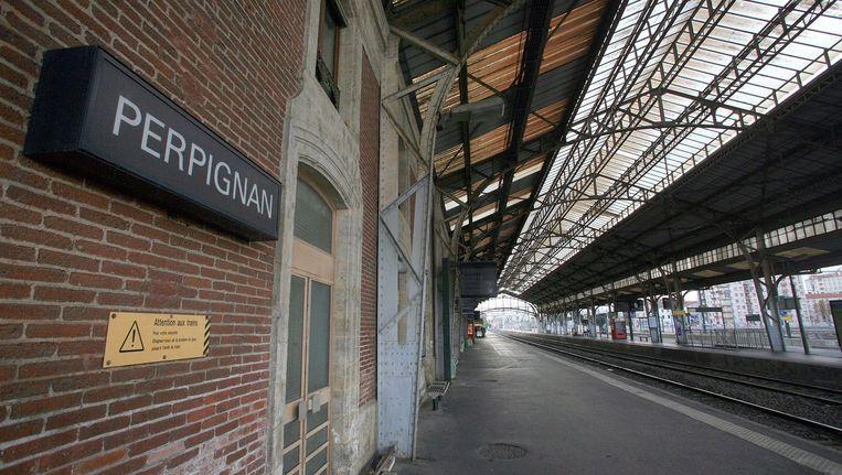 Alle meisjes verdwenen in de stationsbuurt van Perpignan. Dat was ook de favoriete plek van de man die gisteren een moord bekende. Beeld © AFP