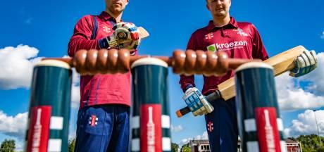 Cricketers Salland mogen al wel genieten van competitiewedstrijden