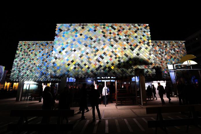 Eindhoven opening DDW, People's Pavilion, genomineerd voor de Dirk Roosenburgprijs, ontwerp: SLA/Overtreders W