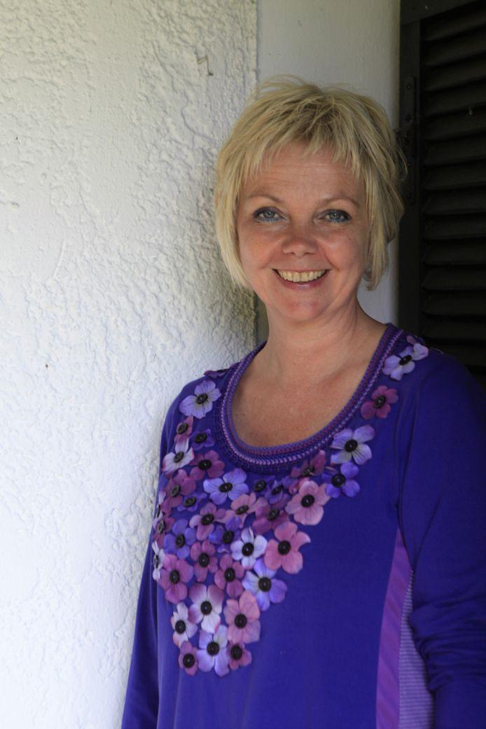 Predikant en beeldend kunstenaar Anne-Marie van der Wilt