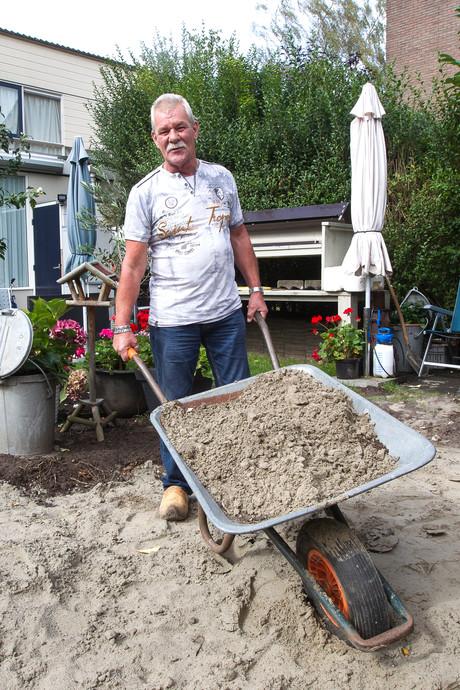 Aanhangertje zand wegbrengen? 420 euro graag