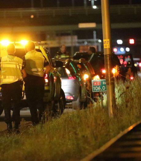 Drie auto's betrokken bij ongeluk op A12 bij Ede