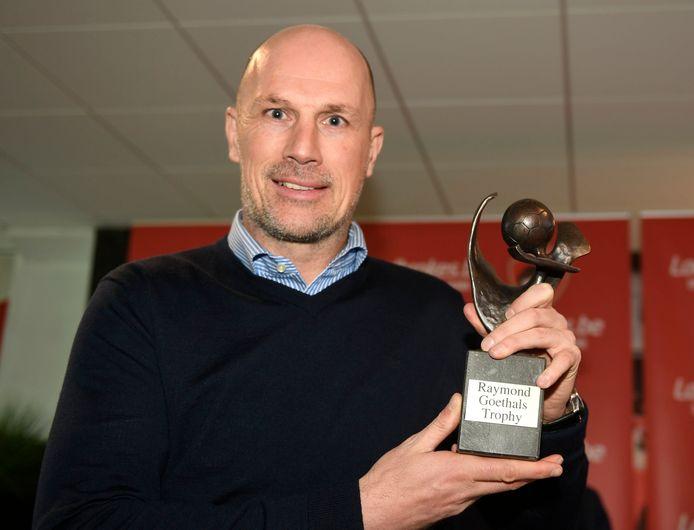 Philippe Clement won de trofee in 2018 en 2019.