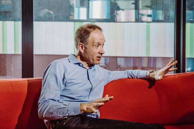 Serge De Gheldere van Futureproofed. Beeld Wouter Maeckelberghe