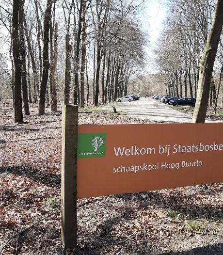 Pluim voor teksten en kaarten in braille bij wandelroute rond Hoog Buurlo