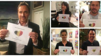 'Mooi & Meedogenloos'-acteurs bedanken Belgische fans voor hun steun