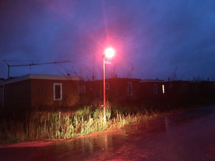 Rode straatverlichting geeft het ecodorp volgens het CDA in Boekel de uitstraling van een tippelzone