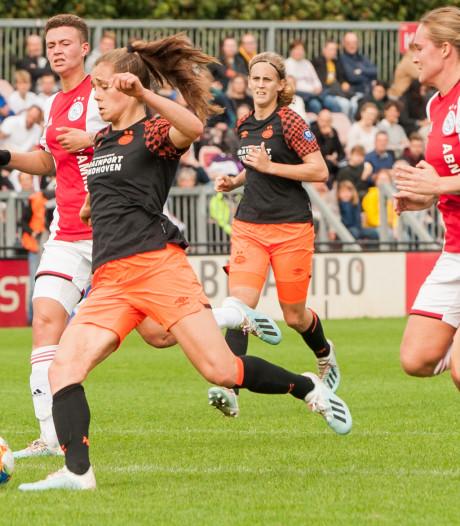 PSV-Ajax zorgt voor toeschouwersrecord eredivisie vrouwen
